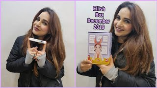 Ellish Box December 2019 | Disguise Lipshade | Unboxing & Review |