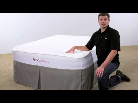 Fox Air Beds Signature Air Mattress – Most Comfortable – Best Looking – Most Durable Air Bed
