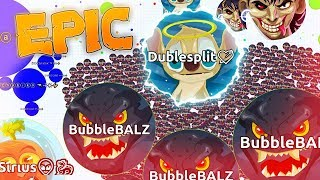 Bubla.io | CRAZIEST PRE-SPLITS EVER!?! EPIC 1000 BOTS GAMEMODE In Bubla.io