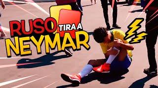 Ruso tira a Neymar | Soy Fredy