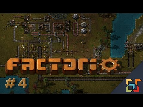 Factorio #4 Turrety! | Plays