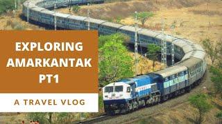 Amarkantak train( 02817) journey after lockdown/ Covid -19 period wearing mask-  PART 1