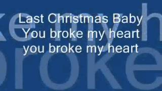 The Cheetah Girls - Last Christmas (with lyrics)