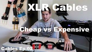 Cables Ep 02 | Cheap vs Expensive XLR Cables | Detailed Breakdown | GLS Audio | Hosa pro edge