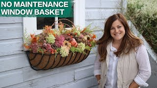 Create a Maintenance Free Window Basket