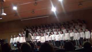 Pequecoro: IV Música pola Paz. Abiyoyo (Arlo Guthrie). 7 febreiro 2014