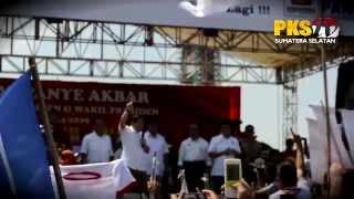 Orasi Anis Matta, Kampanye Akbar Prabowo Hatta di Palembang