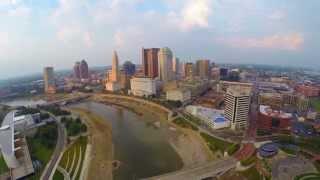 """DJI Aerial Drone Footage of Beautiful Columbus Ohio in HD """"Flight Ohio"""""""