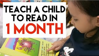 How To Teach A Child To Read In One Month (A 4 Year-Old Can Read)