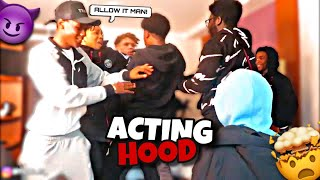 "Acting ""HOOD"" To See How KaiKai HD & THE MANDEM React...**HILARIOUS** 🤣😈"