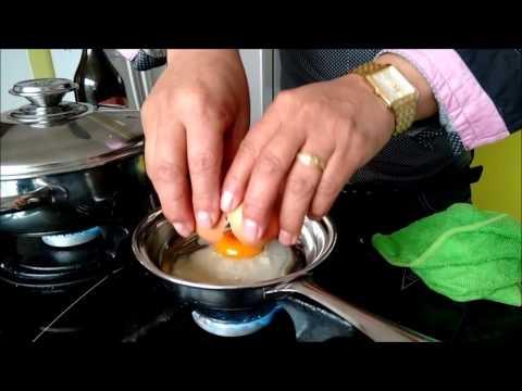 Huevo en sartén minigourmet con Acero Hogar Pasto.