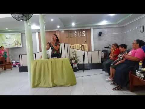 Sulamita Lopes  - Não temas sou eu na Assembleia de Deus Abreu e lima na Ur5