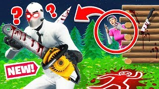 Don't get KILLED by MICHAEL MYERS! in Fortnite