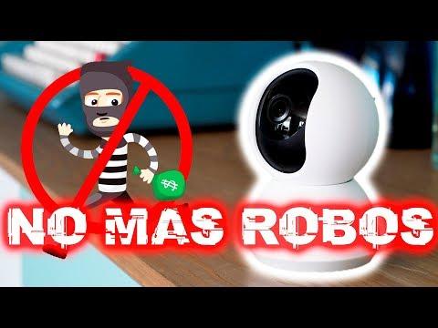 ¡NO MÁS ROBOS!, cámara de seguridad de Xiaomi