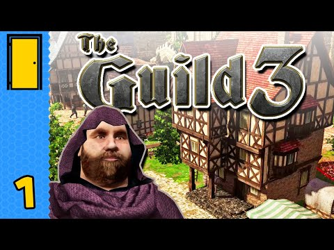 From Rags to Riches - A Farmer's Dynasty is Born! | The Guild 3 - Part 1 (Medieval Life Sim)