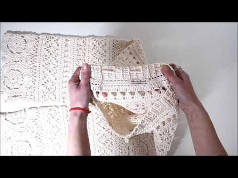 gehähäkelte Strandhose. Crochet by Elena Obukhova