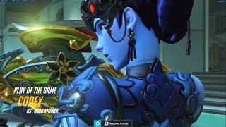 Overwatch Sombra God Codeyniku Showing His Gameplay Tricks