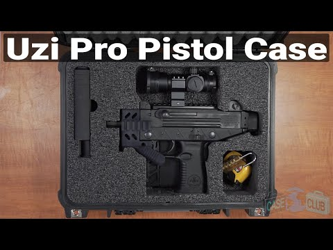 IWI UZI Pro Pistol Case - Featured Youtube Video