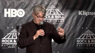 STEVE MILLER GOES OFF ON ROCK HALL AFTER INDUCTION, CHEAP TRICK DURING SPEECH