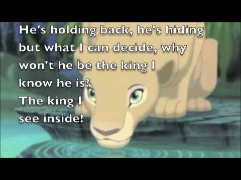 Can You Feel the Love Tonight: The Lion King Lyrics