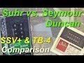 Suhr SSV+ vs. Seymour Duncan TB-4 [1ª parte] (Fender Strat)