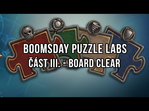 Boomsday Puzzle Labs - Část III. Board Clear