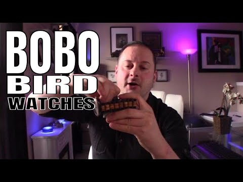 Watch Review : BoBo Bird Wooden Watches Review