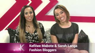 Next Week on The Link we host Fashion Bloggers Sarah Langa and Kefilwe Mabota