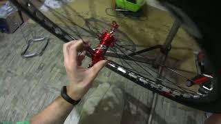 Китайкарбон Велосипед по запчастям с Aliexpress