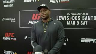 UFC Wichita: Derrick Lewis - Media Day Scrum
