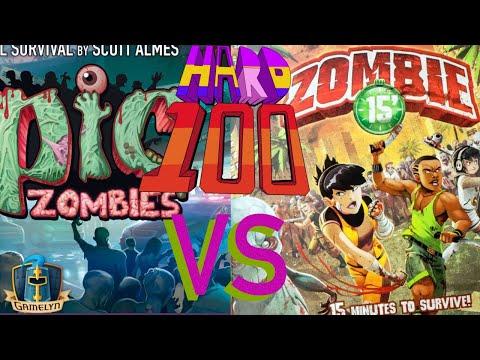 The Hard 100: Un-Death Match: Tiny Epic Zombies Vs Zombie 15'