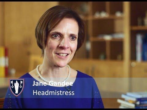 St Swithun's Senior School Headmistress Jane Gandee