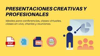 presentaciones creativas y profesionales