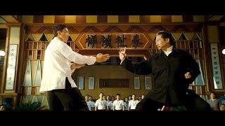 Боевая сцена, Донни Йен против Саммо Хун/Ип Ман против Мастер Хун
