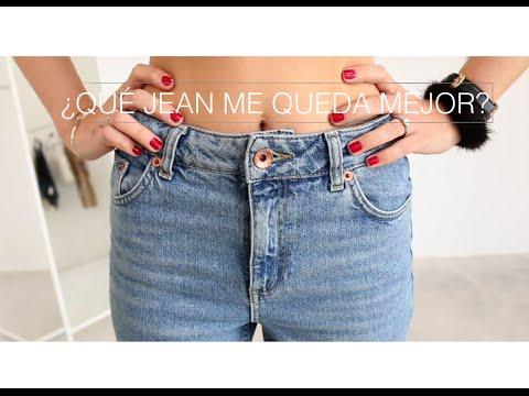 ¿Qué tipo de jean te queda mejor?