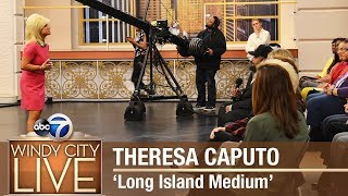 'Long Island Medium' Theresa Caputo reads WCL audience members