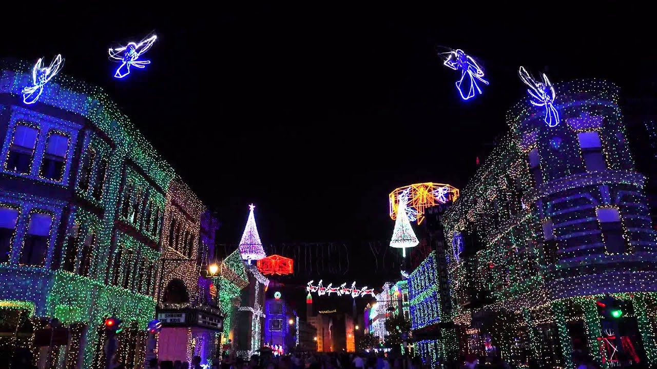 osborne family spectacle of dancing lights 2014 whats this - Hollywood Studios Christmas Lights