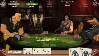 Poker Night 2 Gameplay [ PC HD ]