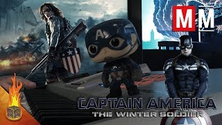 """Captain America: The Winter Soldier """"Taking a Stand"""" Cover"""