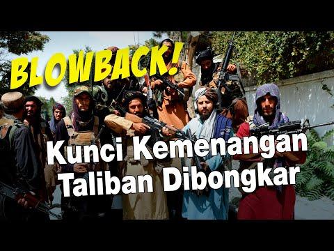 Kunci Kemenangan Taliban Dibongkar