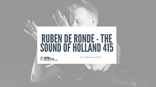 Ruben De Ronde - Live @ The Sound of Holland 415 Recordings 2020