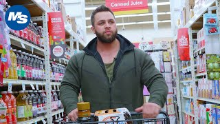 Grocery Shopping with Pro Bodybuilders | Regan Grimes's Grocery Trip
