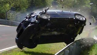 Nordschleife 2014 Big Crash & Fail Compilation Nürburgring Touristenfahrten VLN 24H Rallye