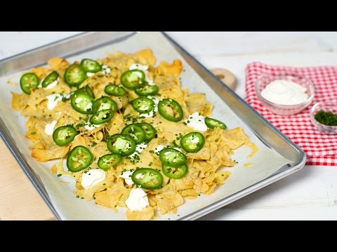 Game Day Perfect Kettle-Chip Nachos- Everyday Food with Sarah Carey