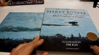 Harry Potter Illustrated Edition Paperback Philosopher's Stone