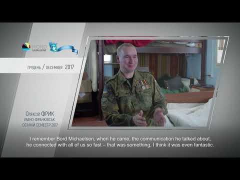 Відео-відгук випускника проекту «Україна-Норвегія» Олексія Фрика