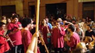 preview picture of video '20130815-SANT ROC LA PESTA ARENYS DE MAR -  VIA FORA !!!'
