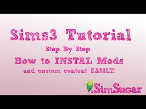The Sims 3 Tutorial - How To Install Custom Content/Mods Mp3