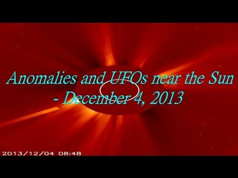 Anomalies and UFOs near the Sun – December 4, 2013
