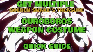 How to get Multiple Ouroboros Weapon Costume - Ragnarok Mobile